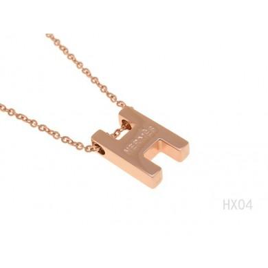 Designer Fake Hermes Necklace - 8 RS10685