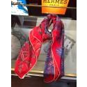 Luxury Hermes Satin Silk Scarf - 12 RS00941