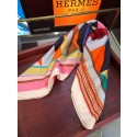 Hermes Silk Shawl Red RS06879