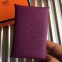 Designer Hermes Anemone Epsom Calvi Card Holder Bag RS25710