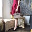 Hermes Birkin 25cm Epsom Calfskin Bag Handstitched Palladium Hardware, Etoupe CK18 RS06451