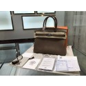 Hermes Birkin 30cm Epsom Leather Palladium Hardware High Quality, Etoupe RS01924