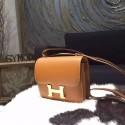 Hermes Constance 18cm Epsom Calfskin Original Leather Handstitched Gold Hardware, Gold CK37 RS02478