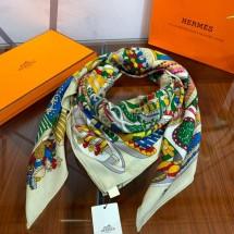 Replica Hermes Silk Scarf- 5 RS17111