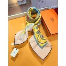 Replica Hermes Winter Wool Scarf Pink RS13793