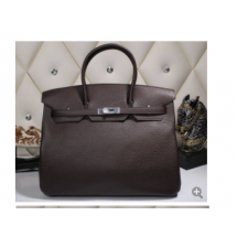 VIP ORDER Hermes Birkin 30cm Taurillon Clemence Bag Hand Stitched Palladium Hardware, Raisin CC59 Ultraviolet 5L RS16106