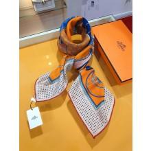Hermes Winter Wool Scarf Orange RS03123