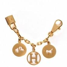 Replica Hermes Gold Breloque Bag Charm RS109210