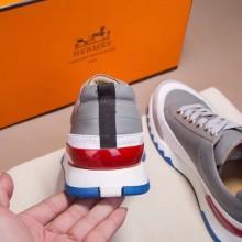 Hermes Grey Rapid Sneakers Shoes RS203212