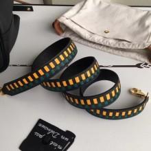 Designer Hermes Black Tressage Cuir 25 MM Bag Strap RS25720