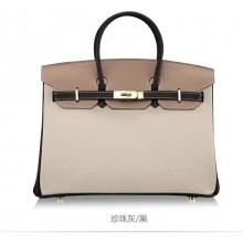 Copy Hermes Horseshoe Birkin 30cm Epsom Calfskin Bag Handstitched, Rose Confetti 1Q/Anemone P9 RS00882