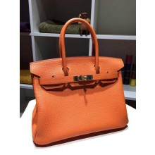 Hermes Birkin 30cm Togo Hand Stitched Gold Hardware, Orange CK93 RS05503