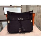 Copy Cheap Hermes Jypsiere Togo Leather Palladium Hardware High Quality, Noir RS09034