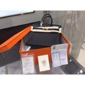 Hermes Birkin 35cm Togo Leather Gold Hardware High Quality, Noir RS04347